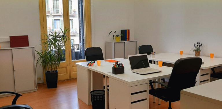 Alquiler de oficinas privadas en el centro de Barcelona